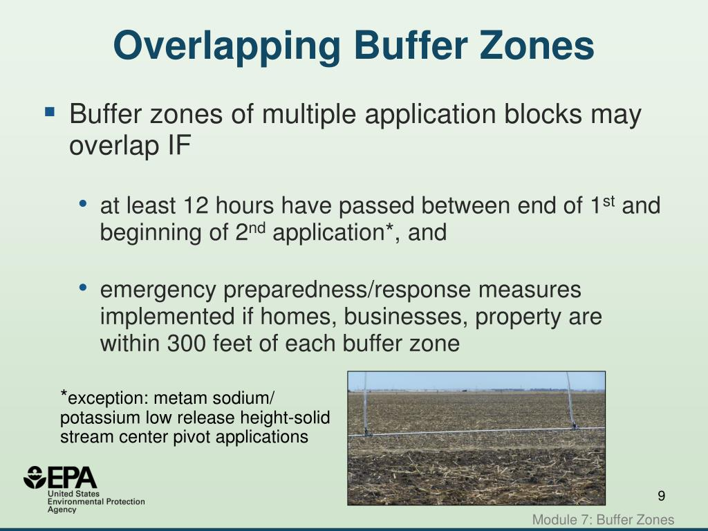 Overlapping Buffer Zones