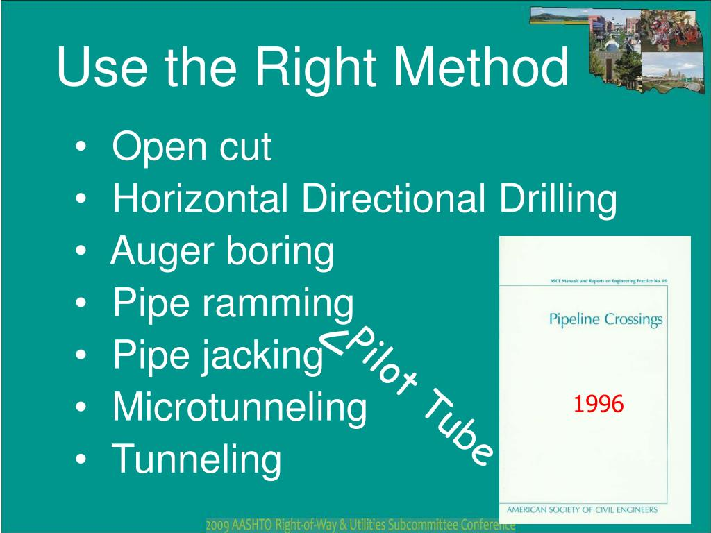 Horizontal Directional Drilling Methodology Ppt
