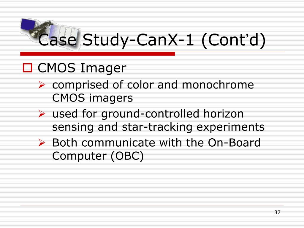 Case Study-CanX-1 (Cont