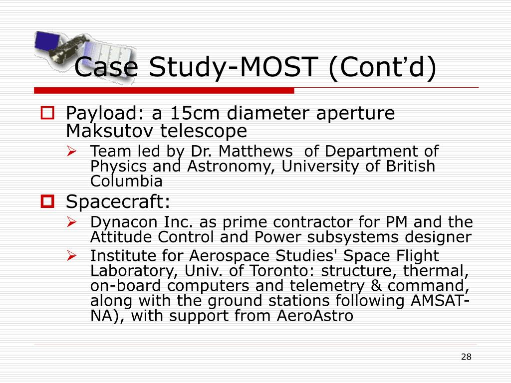 Case Study-MOST (Cont