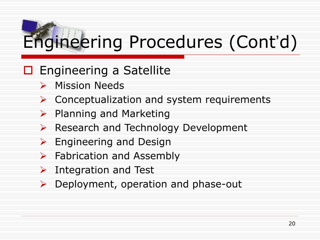 Engineering Procedures (Cont