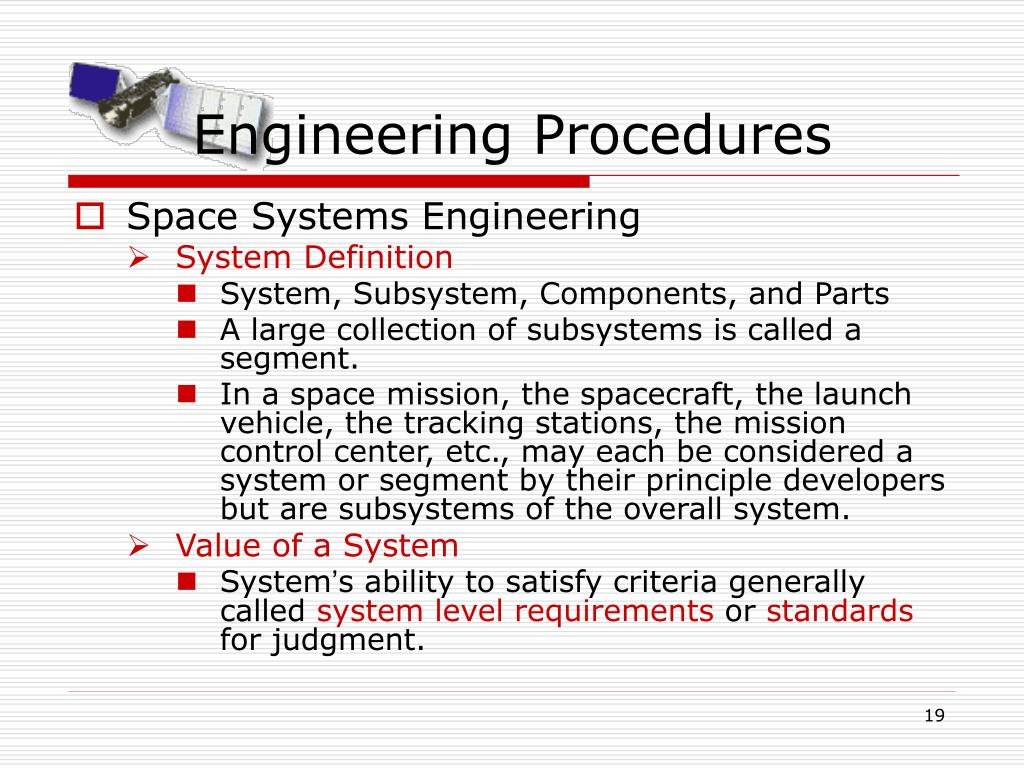Engineering Procedures
