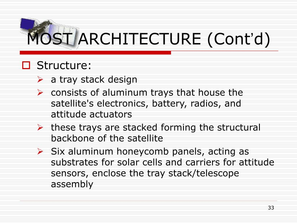 MOST ARCHITECTURE (Cont