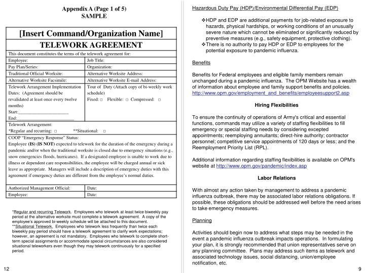 Hazardous Duty Pay (HDP)/Environmental Differential Pay (EDP)
