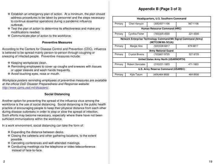 Appendix B (Page 3 of 3)