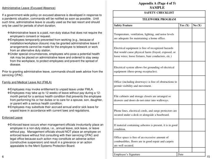 Appendix A (Page 4 of 5)