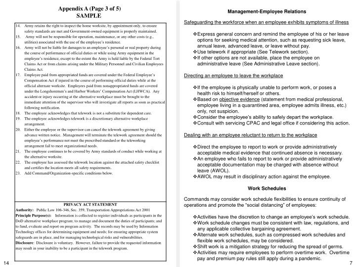 Appendix A (Page 3 of 5)
