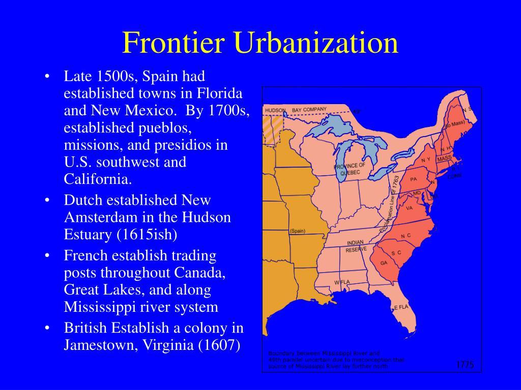 Frontier Urbanization
