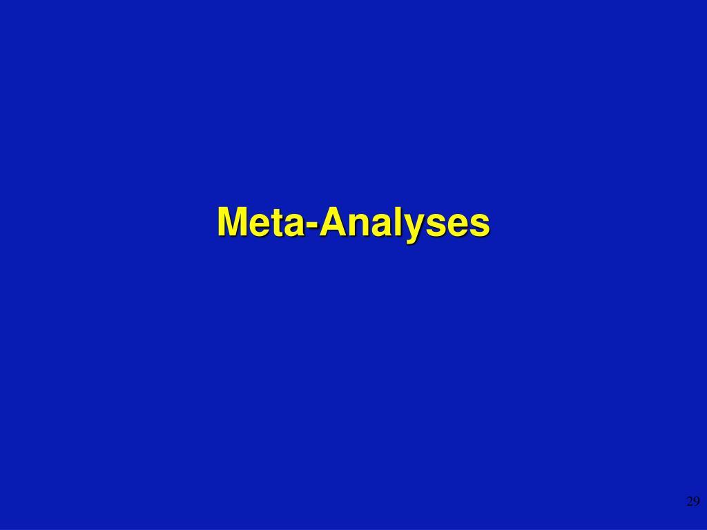 Meta-Analyses