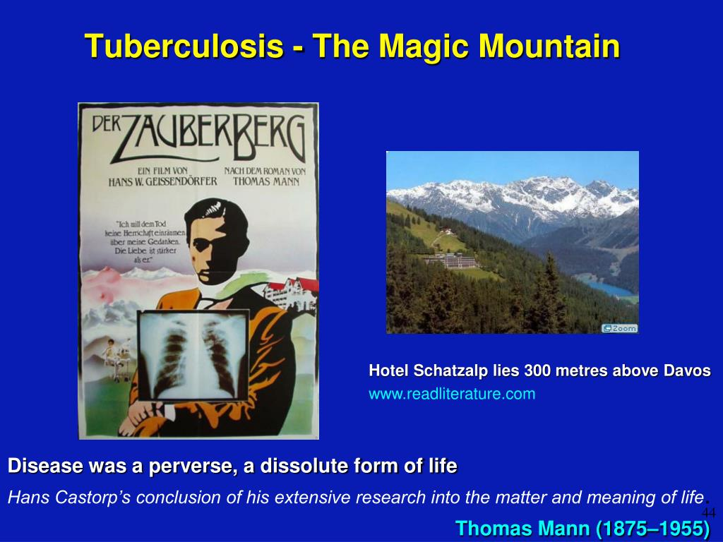 Tuberculosis - The Magic Mountain