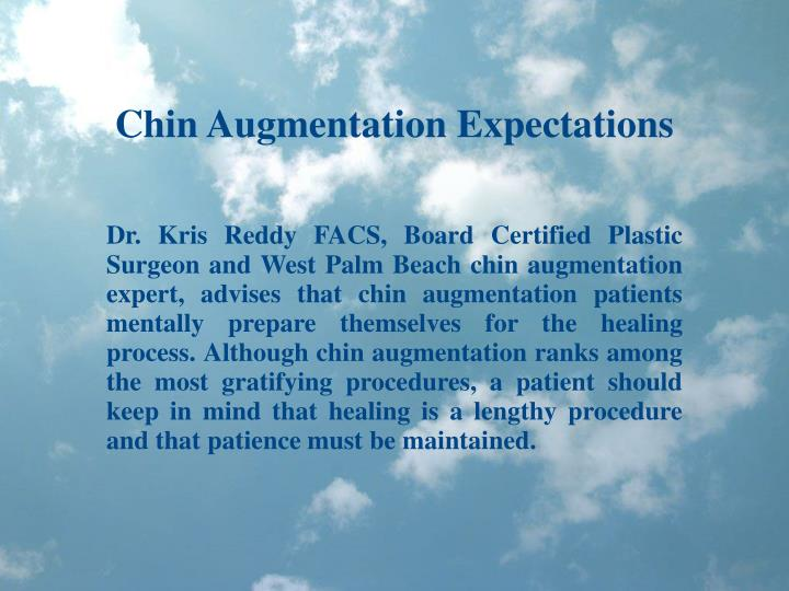 Chin Augmentation Expectations