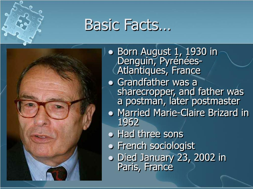 Basic Facts…