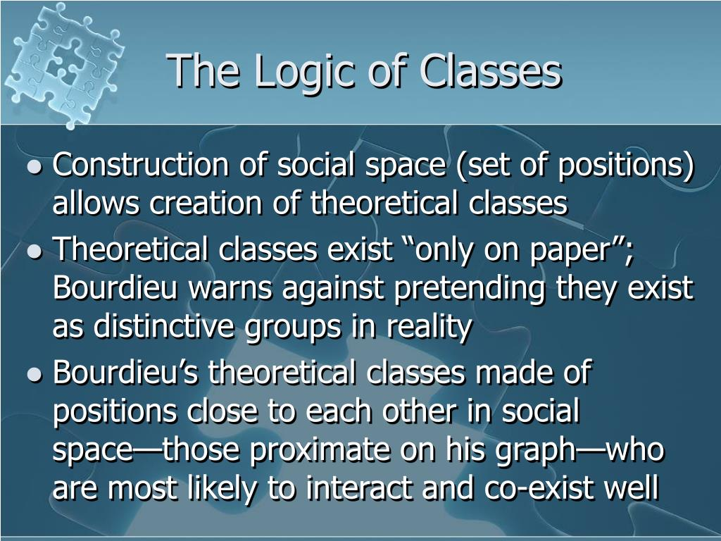 The Logic of Classes