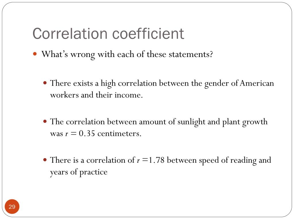 Correlation methology dissertation