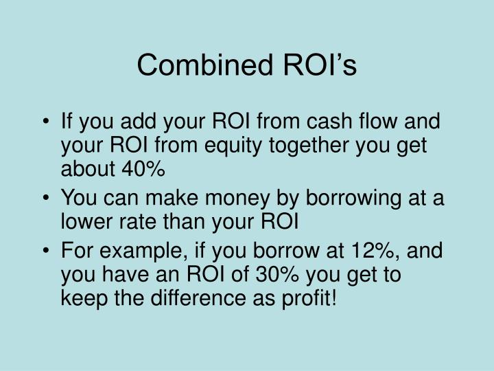 Combined ROI's