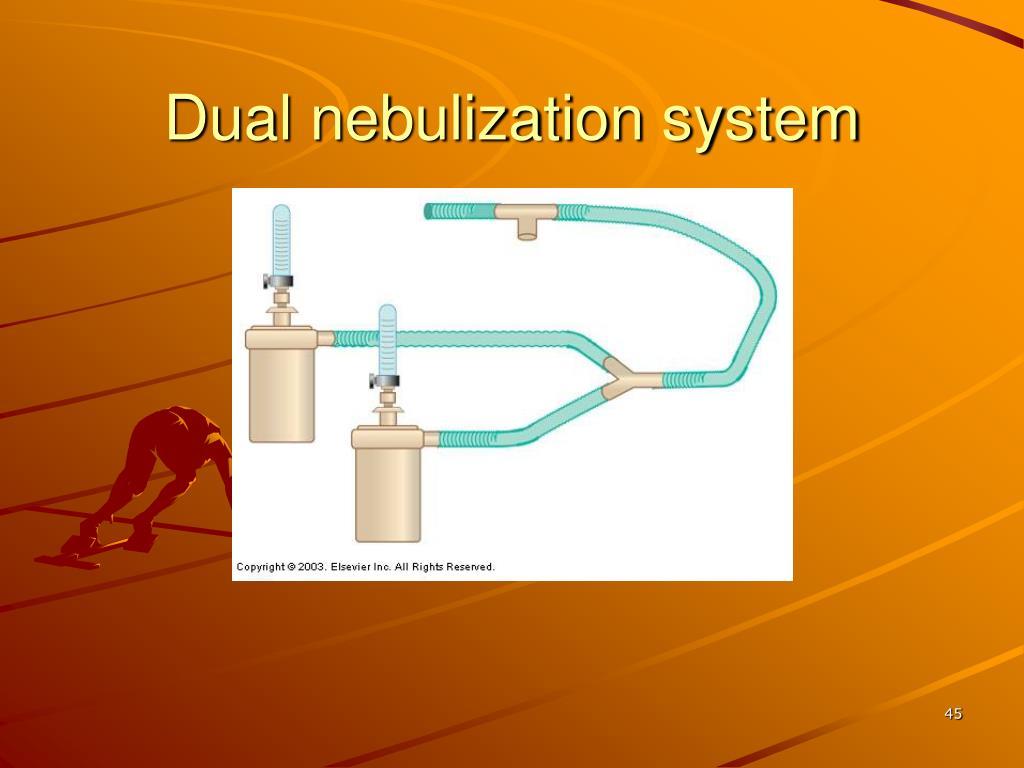 Dual nebulization system