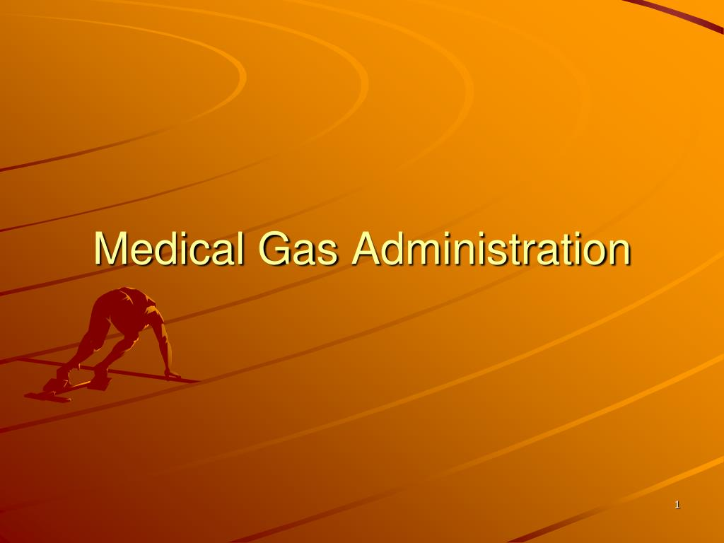 medical gas administration