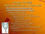 oxygen therapy high flow devices entrainment40