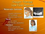 oxygen therapy low flow devices19