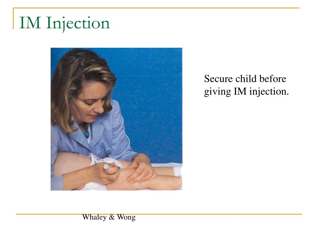 how to give im injection sites