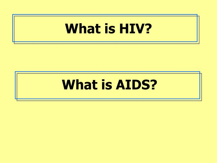 What is hiv l.jpg