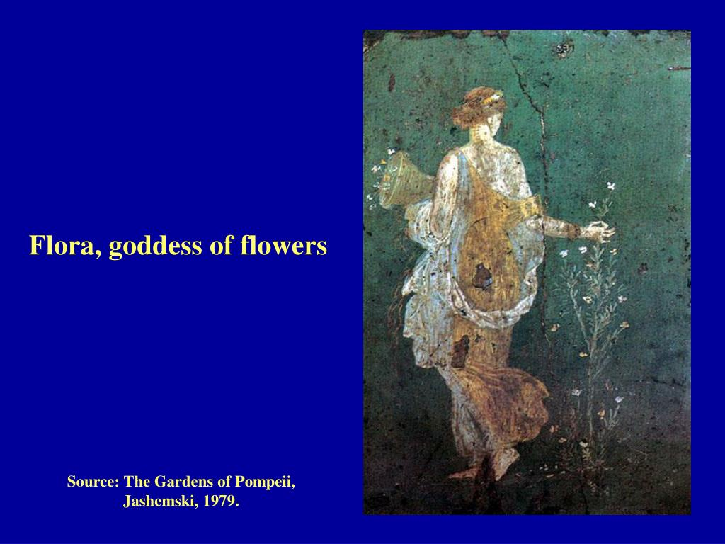 Flora, goddess of flowers