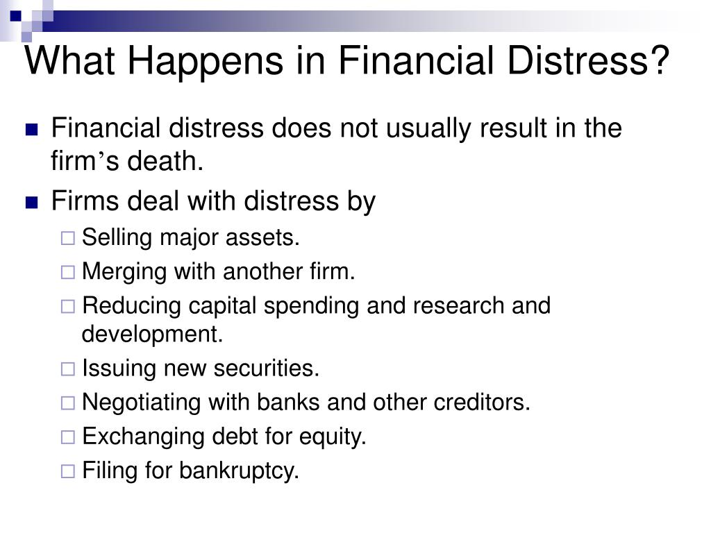 financial distress Warren buffett and other pundits warn that the recent proliferation of financial  derivatives have positioned global financial markets for disaster.