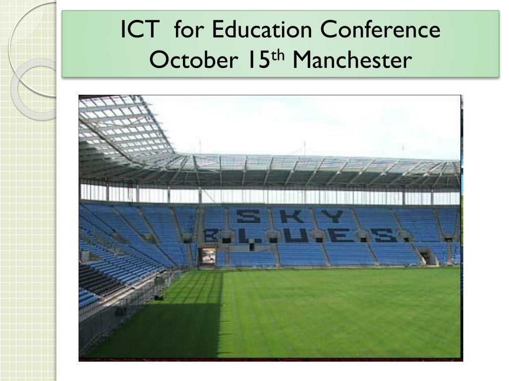 ICT  for Education Conference