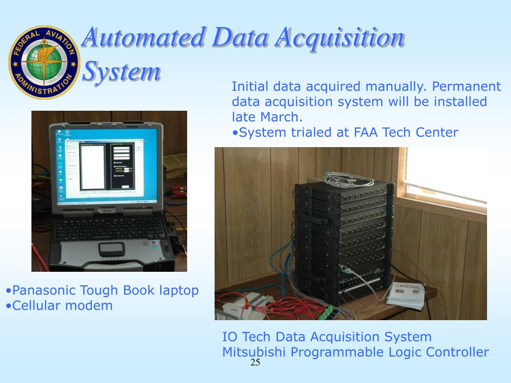 Data Acquisition System Icon : Ppt murphy flynn construction manager faa national