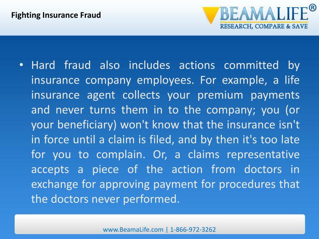 Fighting Insurance Fraud