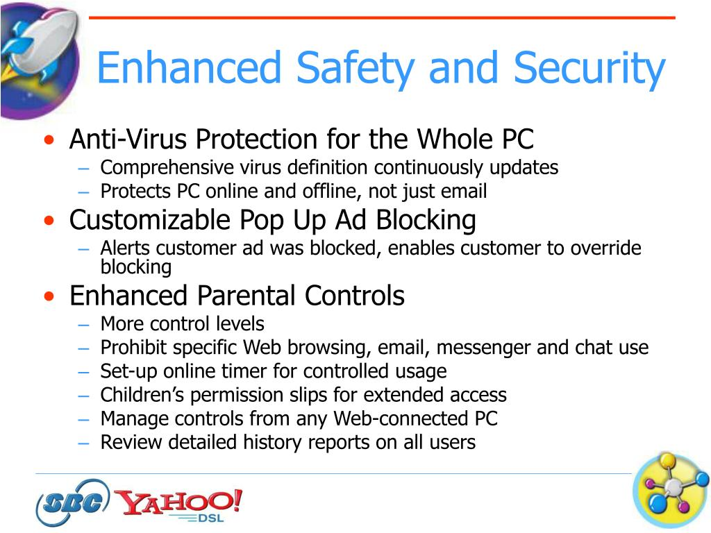 Enhanced Safety and Security