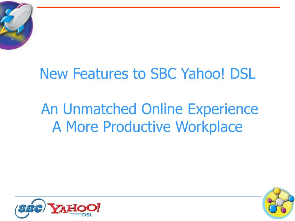 New Features to SBC Yahoo! DSL