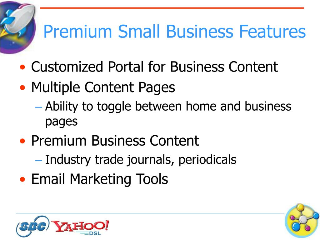 Premium Small Business Features