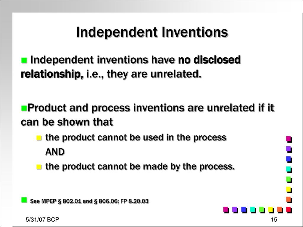 Independent Inventions