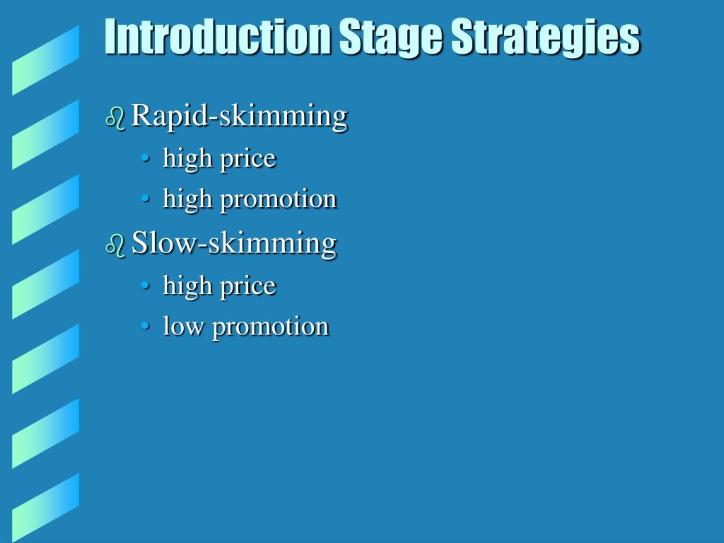 Introduction Stage Strategies