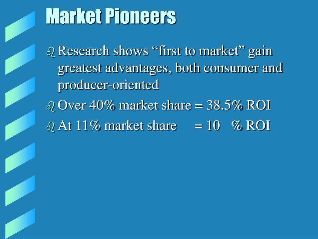 Market Pioneers