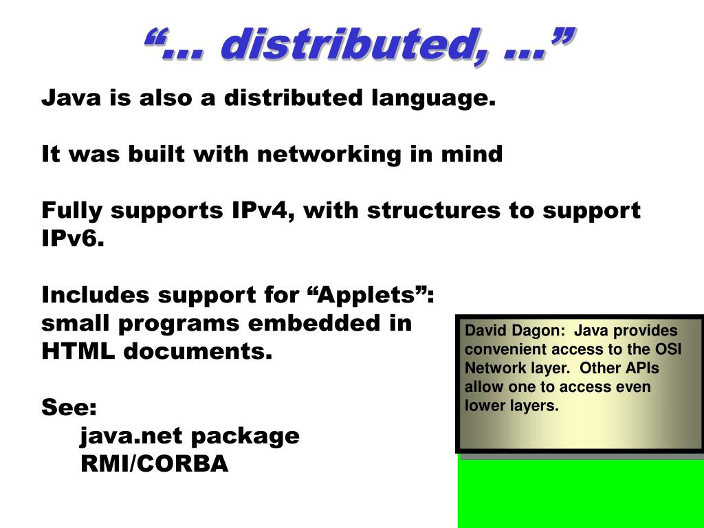 """""""… distributed, …"""""""