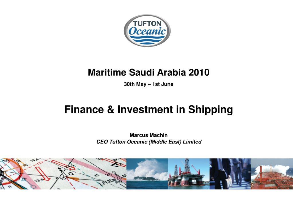 Maritime Saudi Arabia 2010