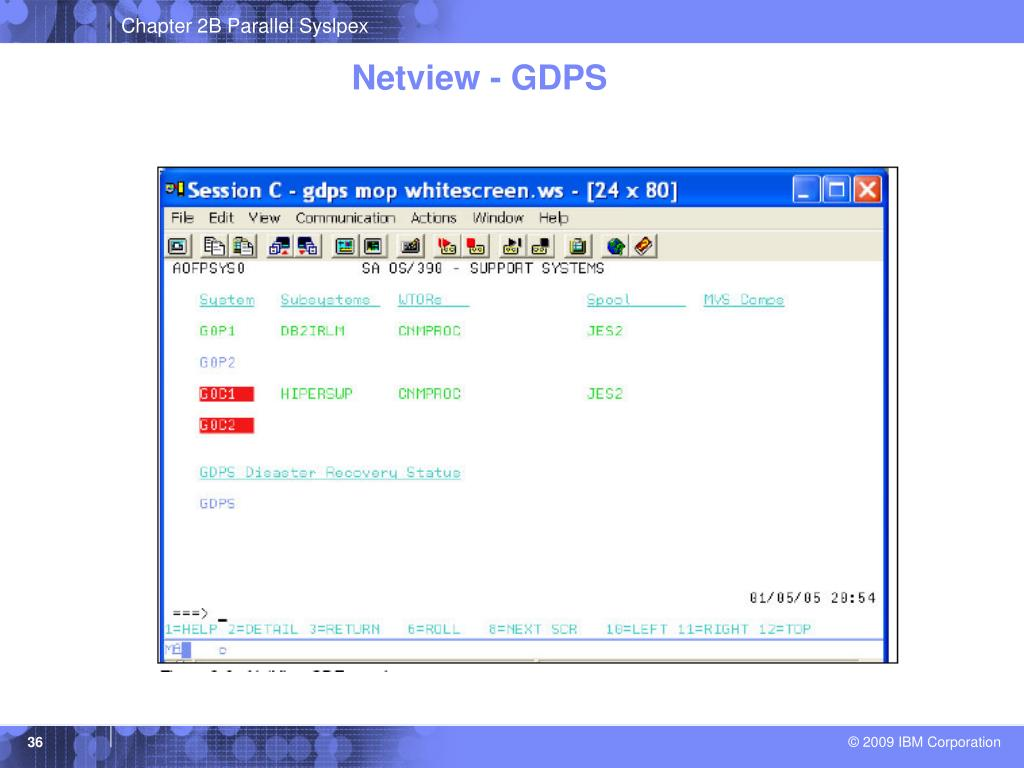 Netview - GDPS