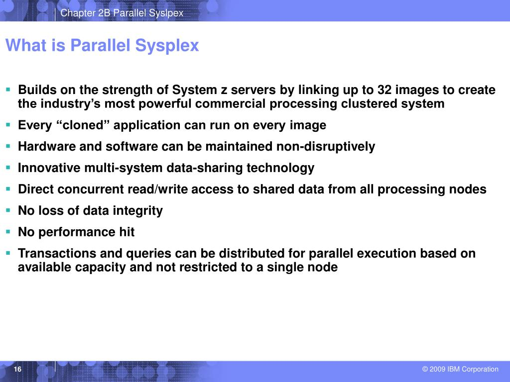 What is Parallel Sysplex
