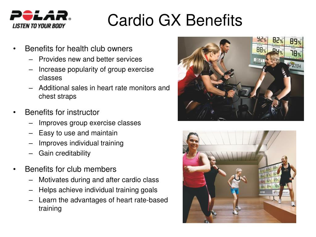 Cardio GX Benefits