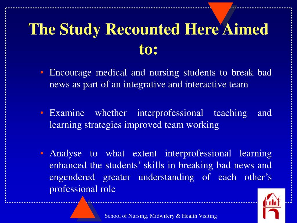 facilitation of learning nursing Journal of nursing education | abstractin recognition of the growing popularity of preceptorships as a means of teaching in nursing, a research study was conducted to examine the development of the preceptor relationship three questions were addressed: what are the specific elements essential to the development of the preceptorship.