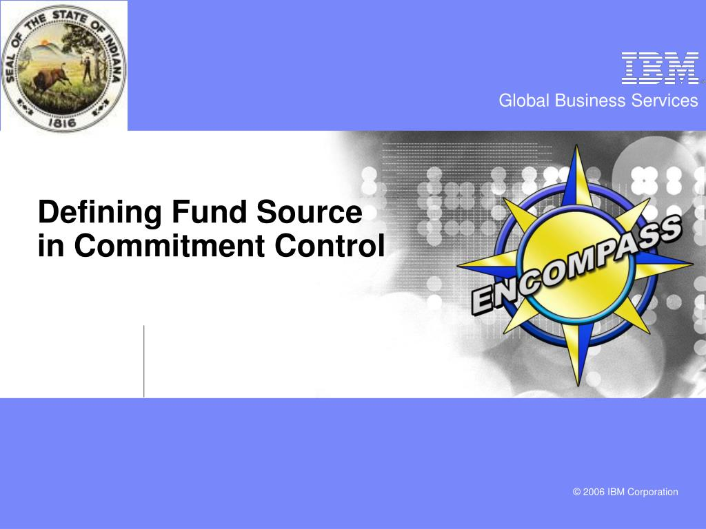 Defining Fund Source in Commitment Control