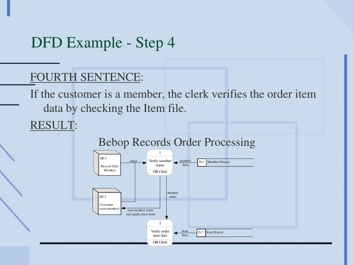 DFD Example - Step 4