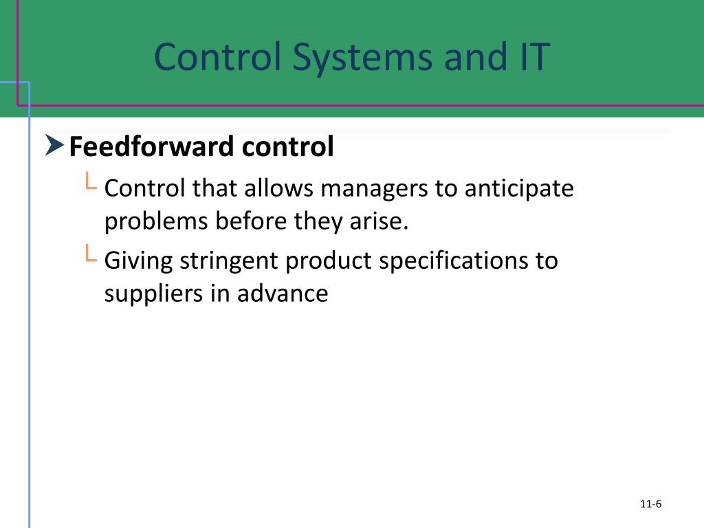 Control Systems and IT