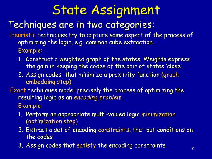 State assignment1