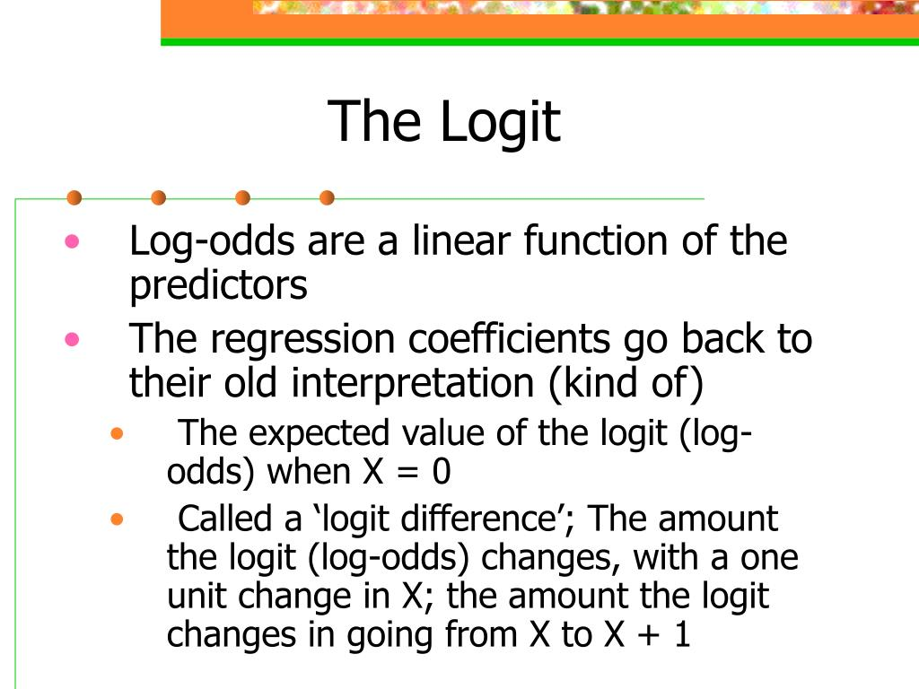 The Logit