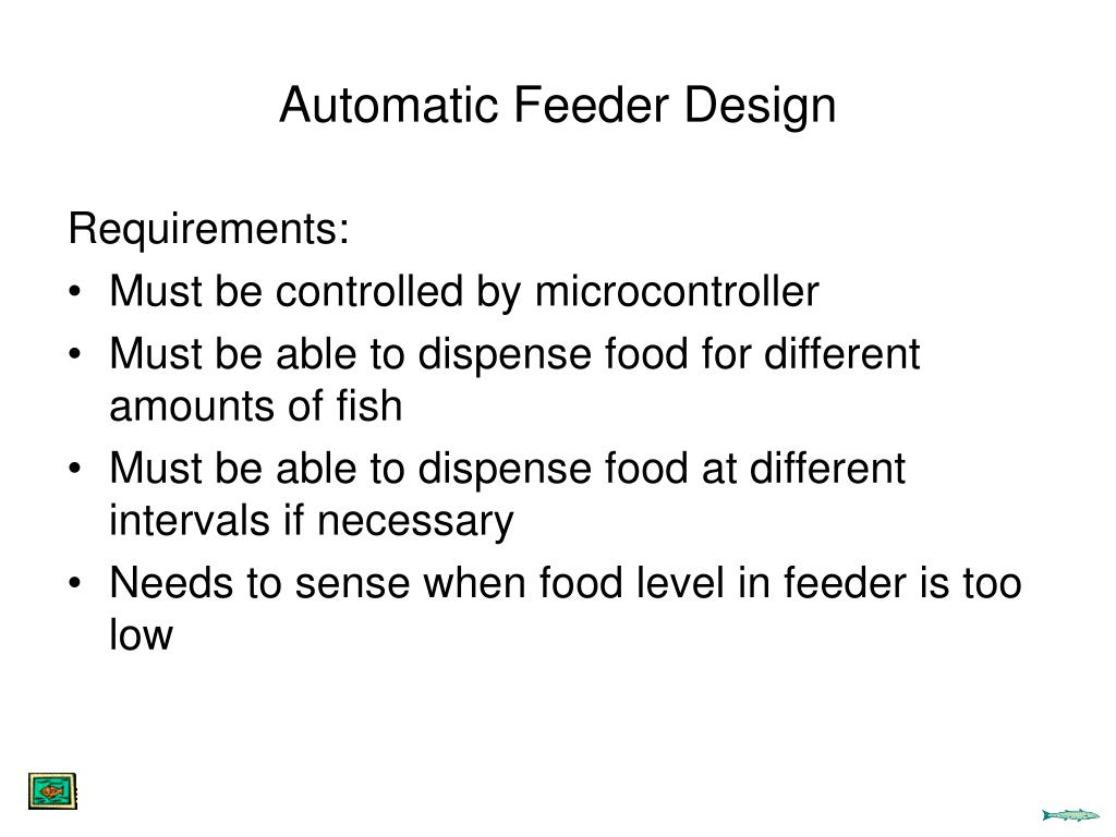 Automatic Feeder Design