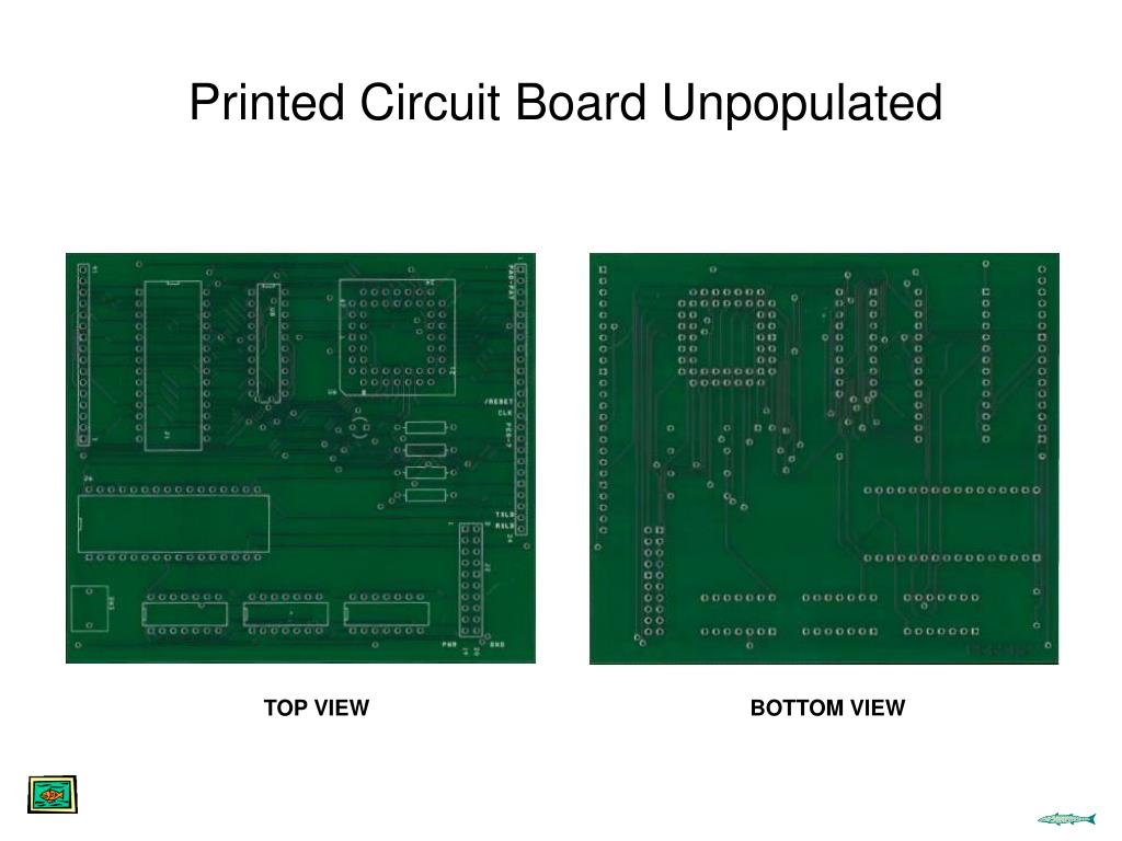 Printed Circuit Board Unpopulated