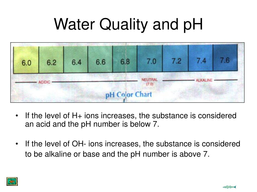 Water Quality and pH